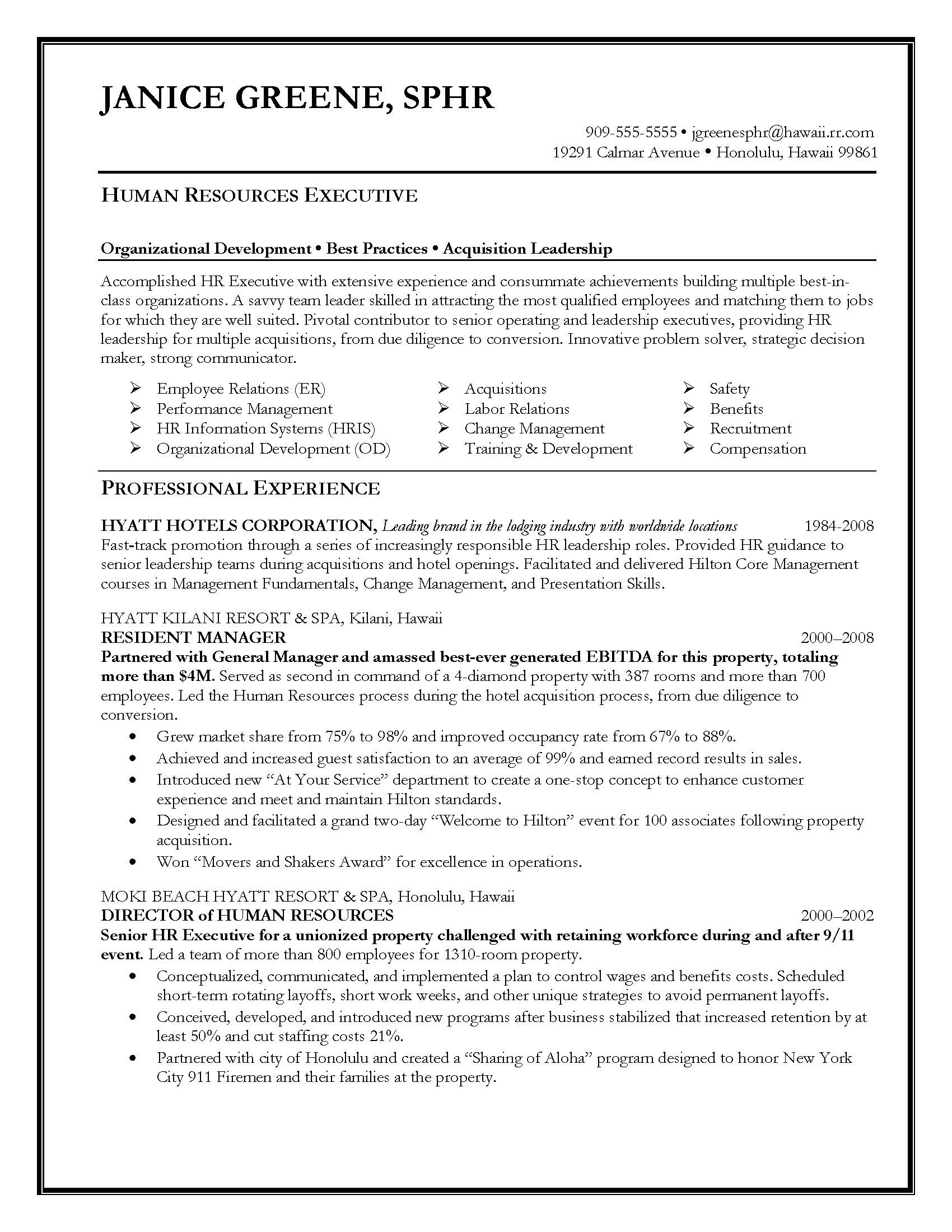 hr recruiter resume examples samples human resources assistant my