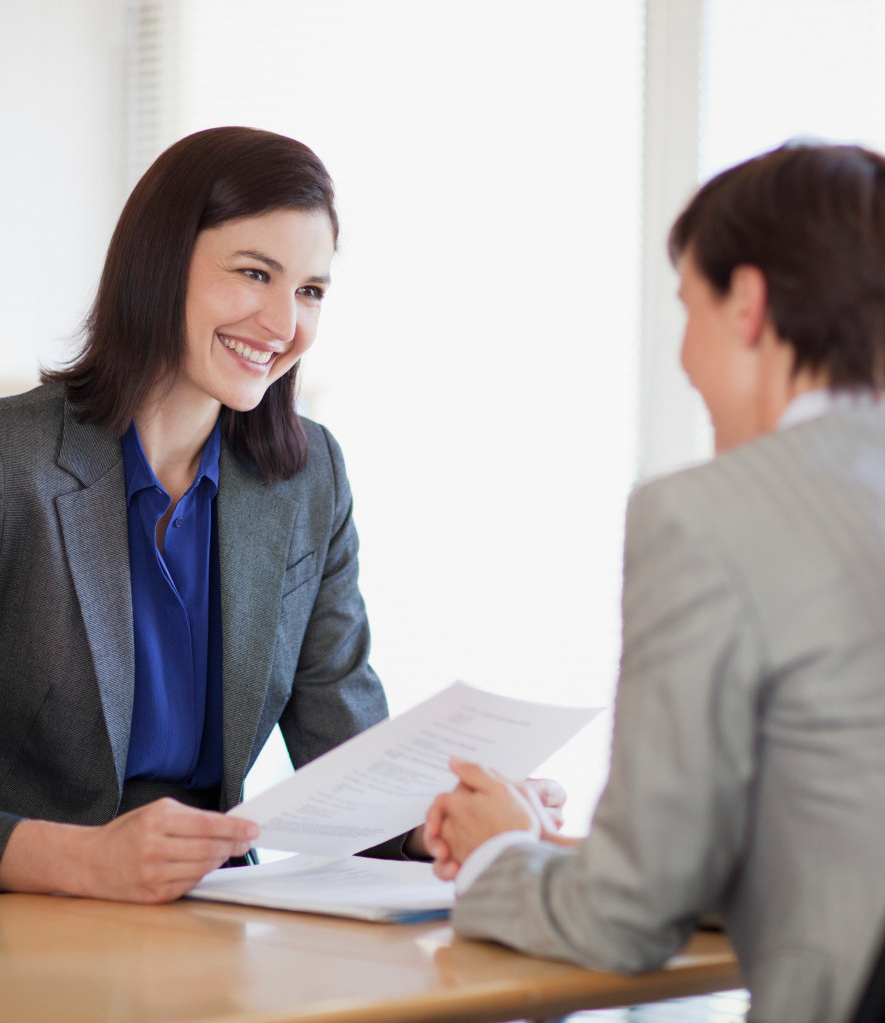 Career coach providing interview coaching services to a client in Atlanta, GA